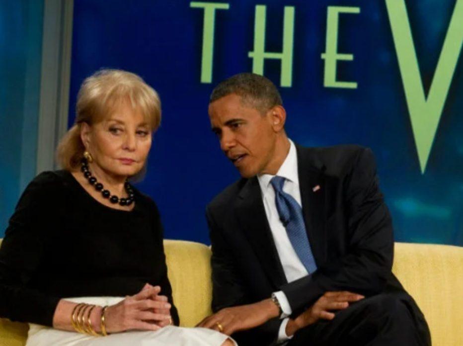 Barbara and Obama