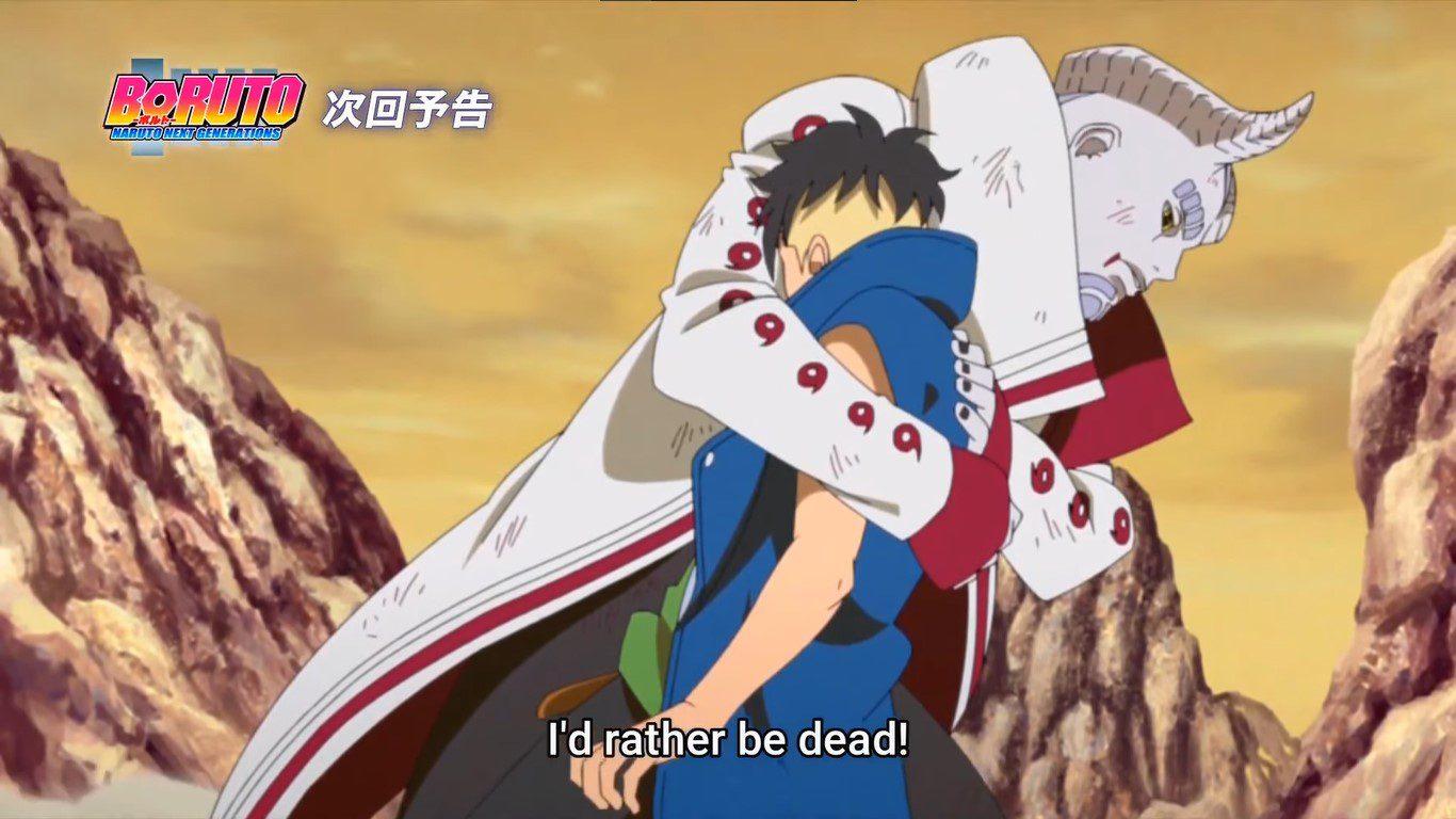 Boruto Anime October
