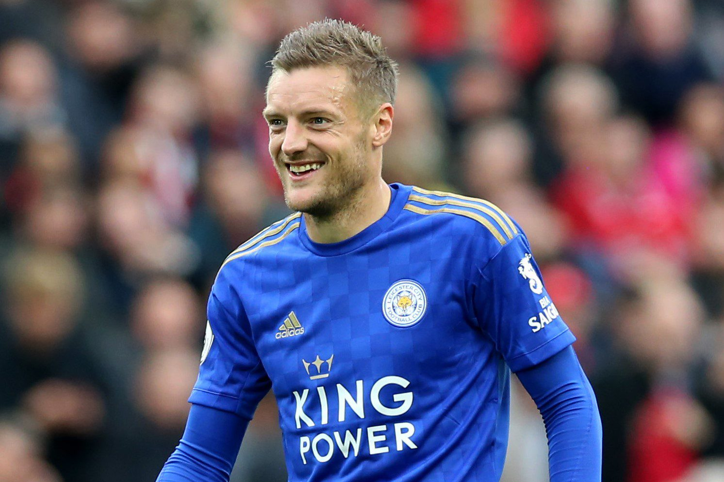 Jamie Vardy from Leicester City