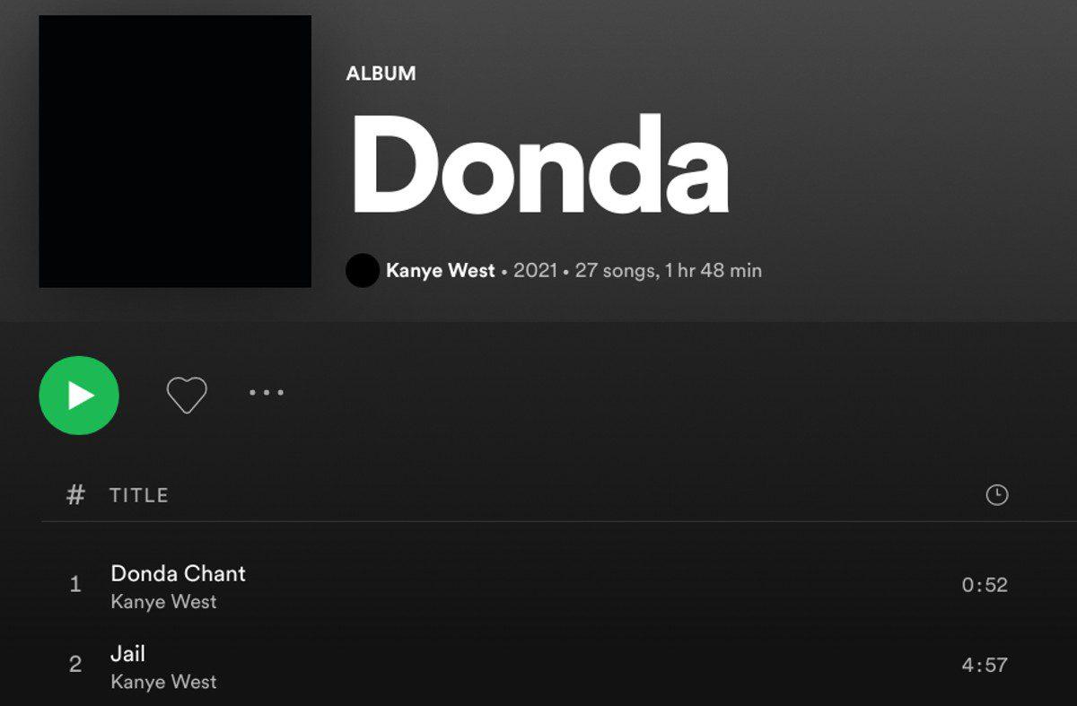 Kanye West Donda Clean Version Censored