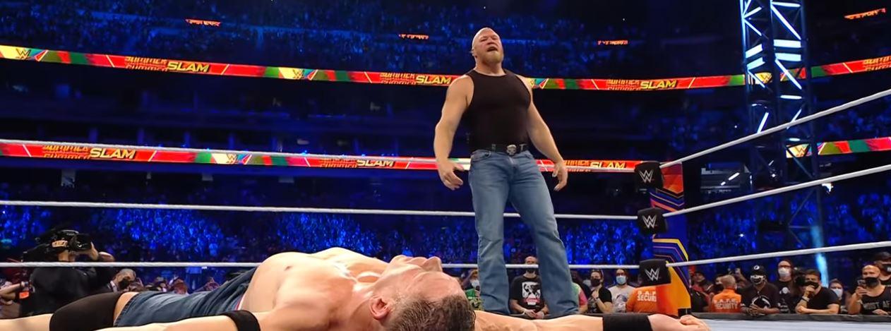 John Cena Calls Brock Lesnar The Best Ever