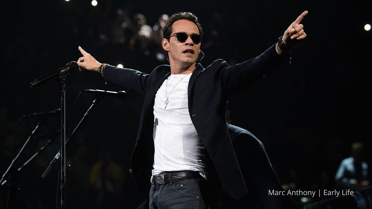 Marc Anthony And His Humble Beginnings