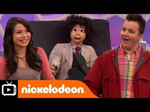 Nickelodeon show iCarly - Gibby and Carly