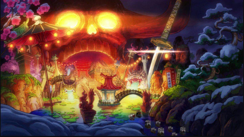 Onigashima Skull Dome