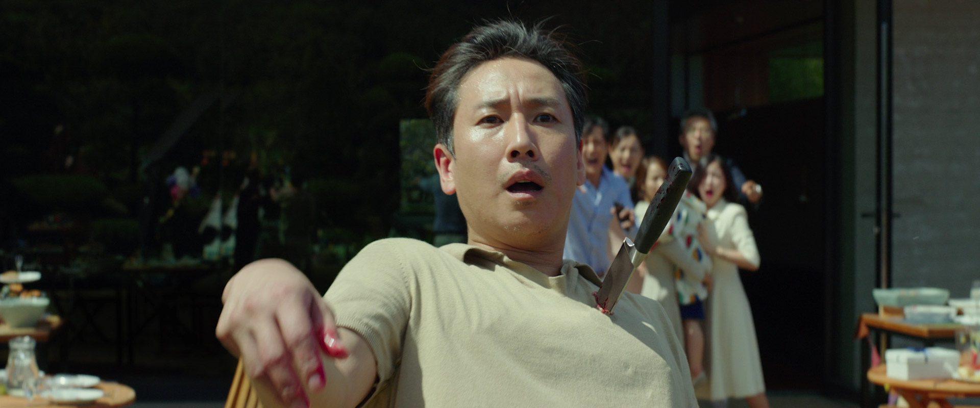 Parasite Movie Ending