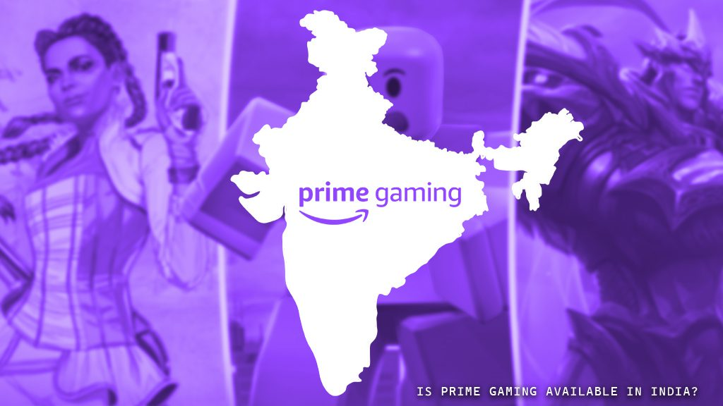 Is Prime Gaming Available in India