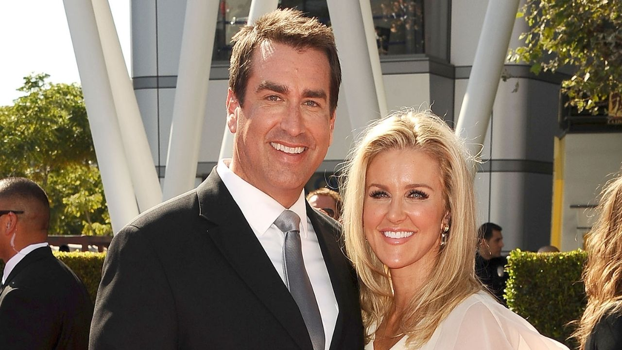 Rob Riggle and Tiffan's Relationship