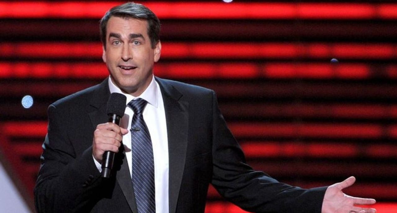 The Girlfriend Of Rob Riggle Who Helped Him Through His Divorce