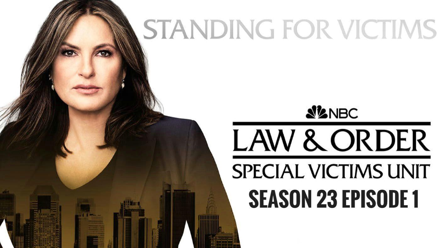 Law & Order: SVU season 23 release date