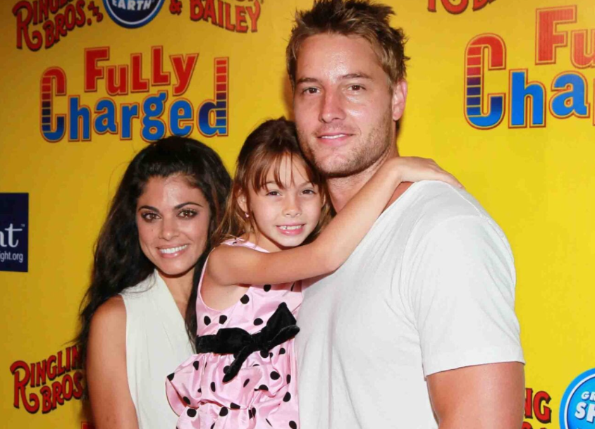 Hartley With Her Family