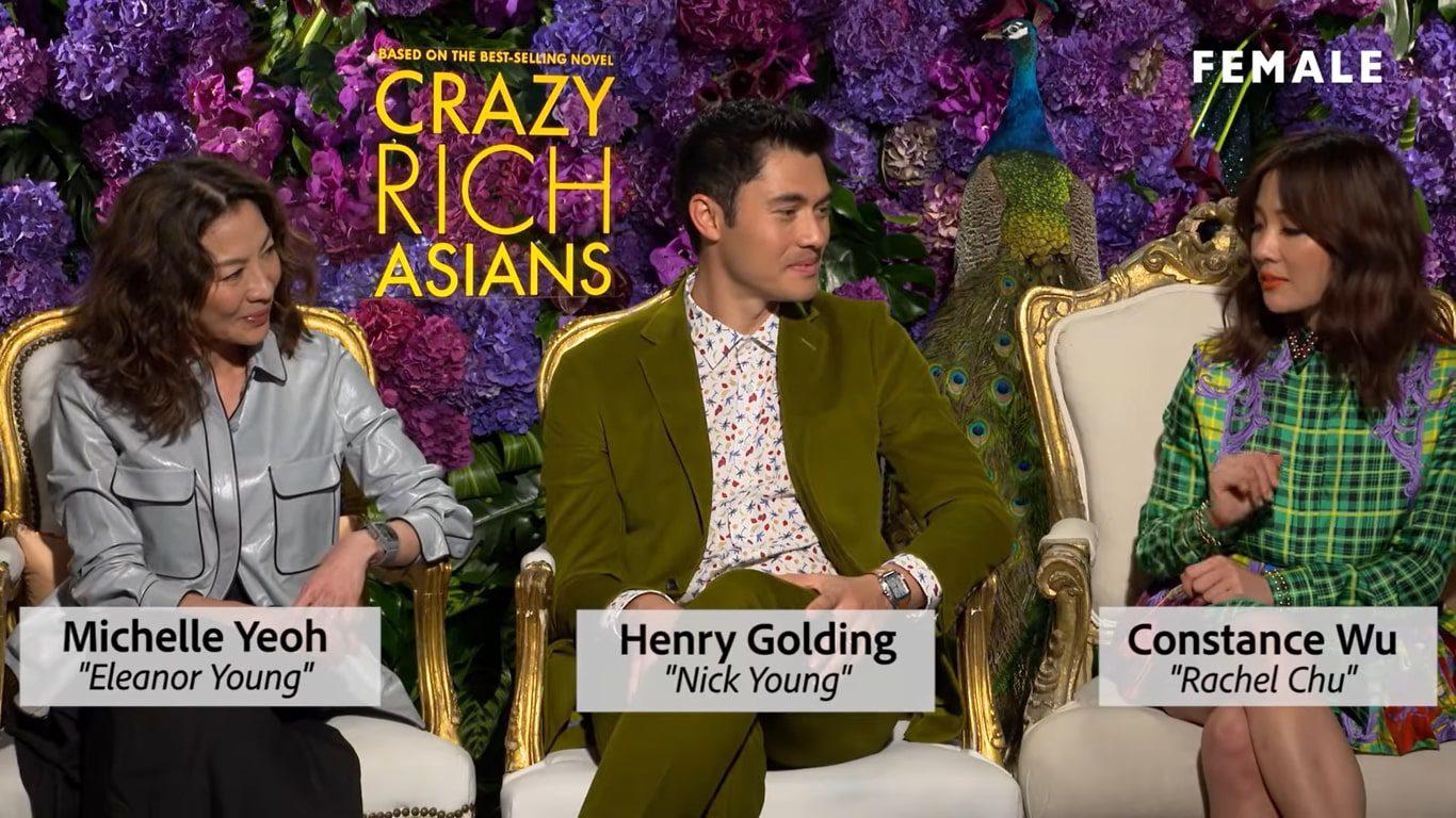 Crazy Rich Asians Filmed