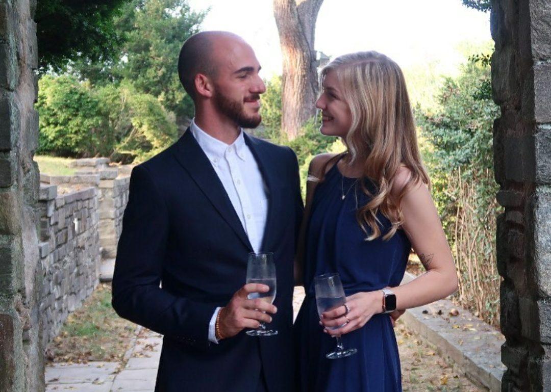 Gabrielle Petito with boyfriend Brian Laundrie