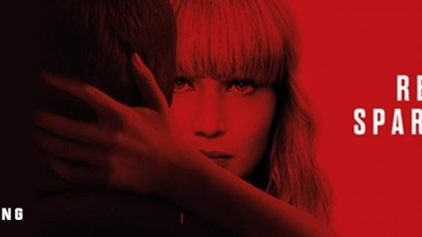 Red Sparrow theatrical poster
