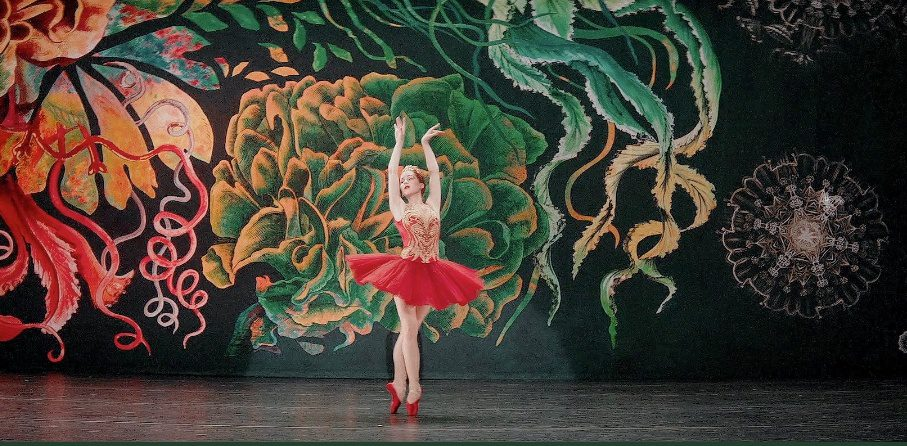 Ballet performance from the movie