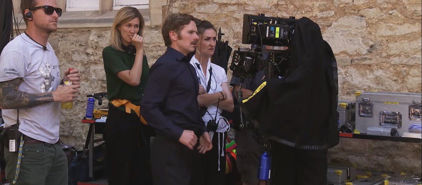 Shaun Evans as a director