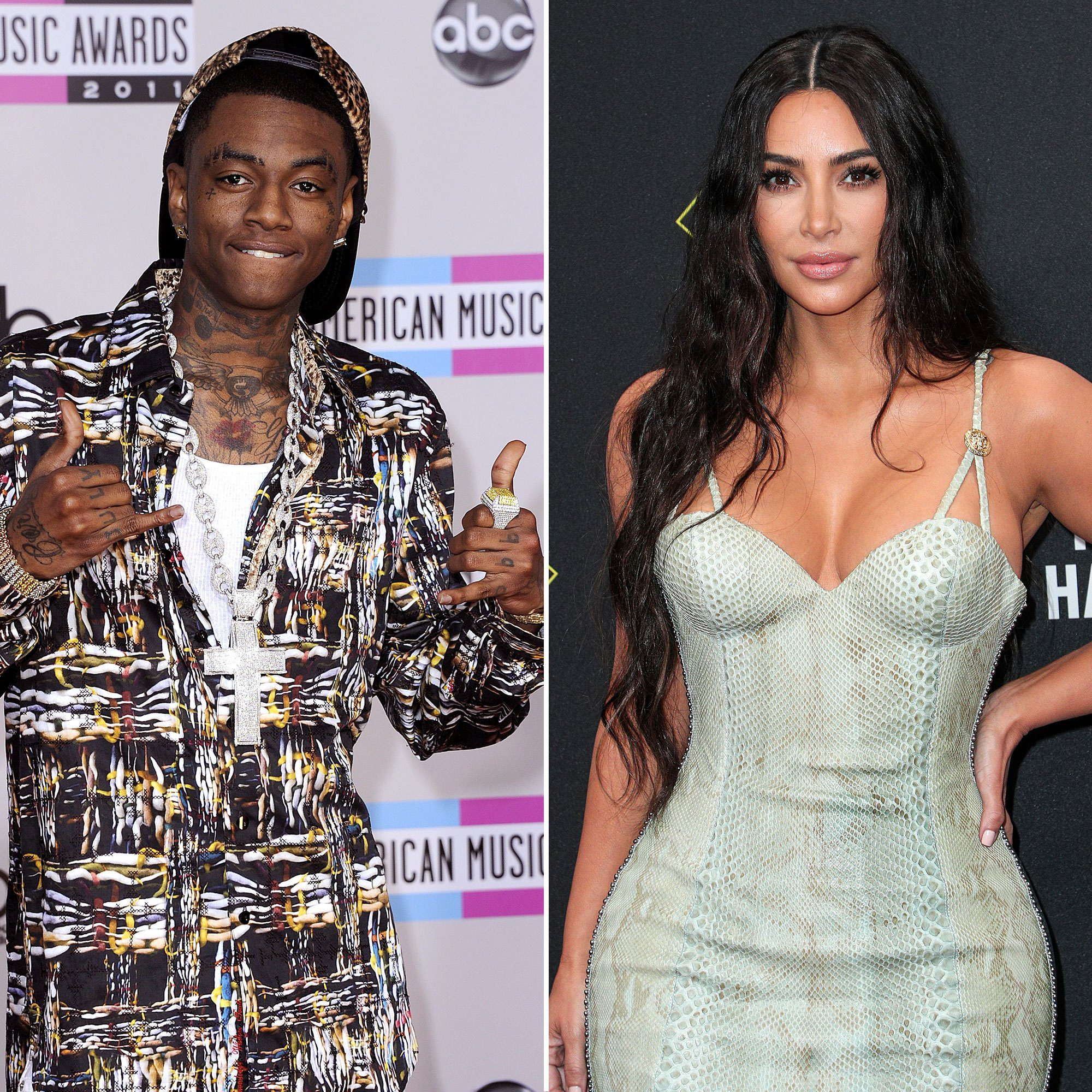Soulja Boy Kim Kardashian dating photo explanation.