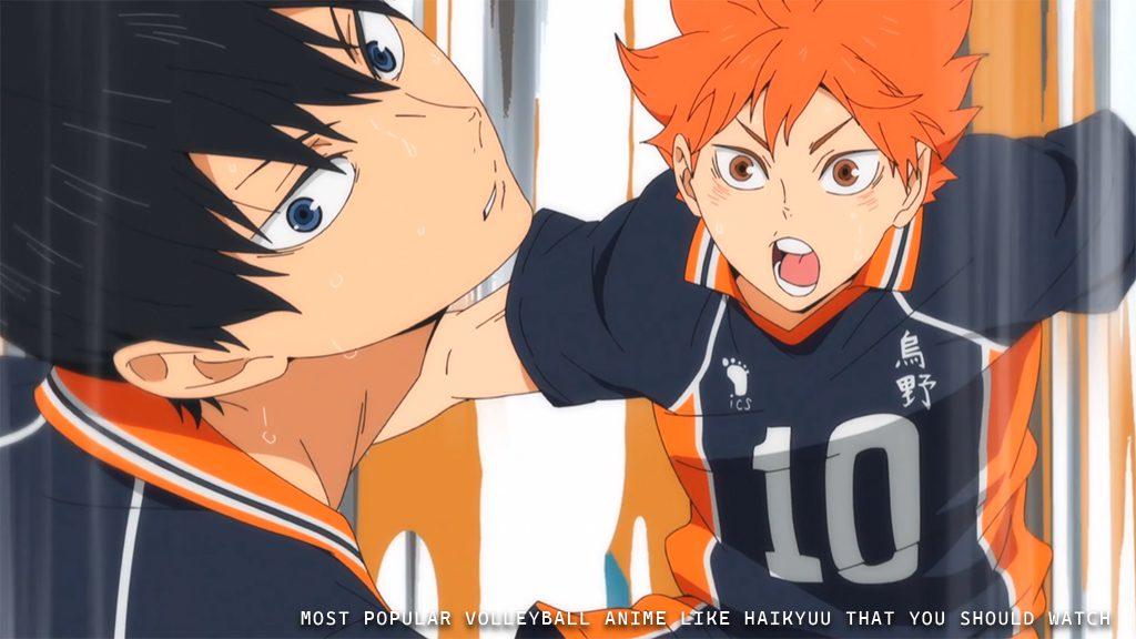 Most Popular Volleyball Anime Like Haikyuu