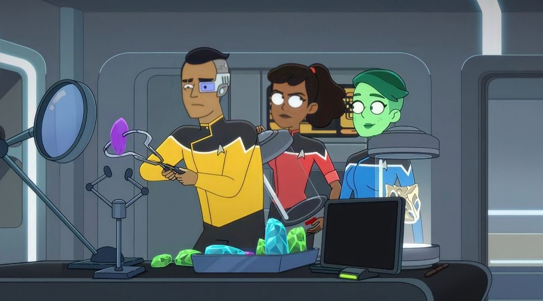 Who voices the characters on Star Trek Lower Decks