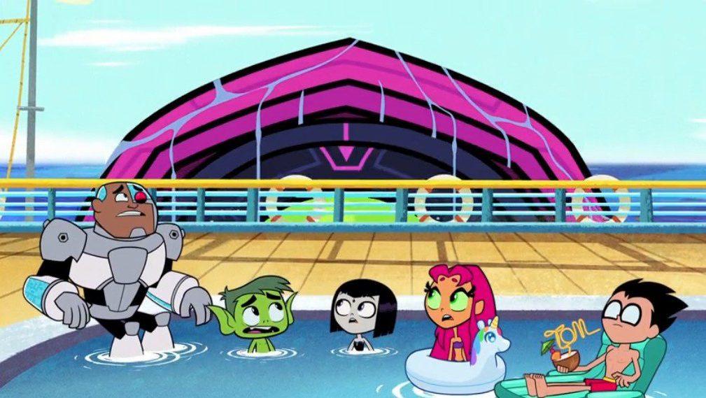 Ending For Teen Titans Go! Season 7 Episode 17