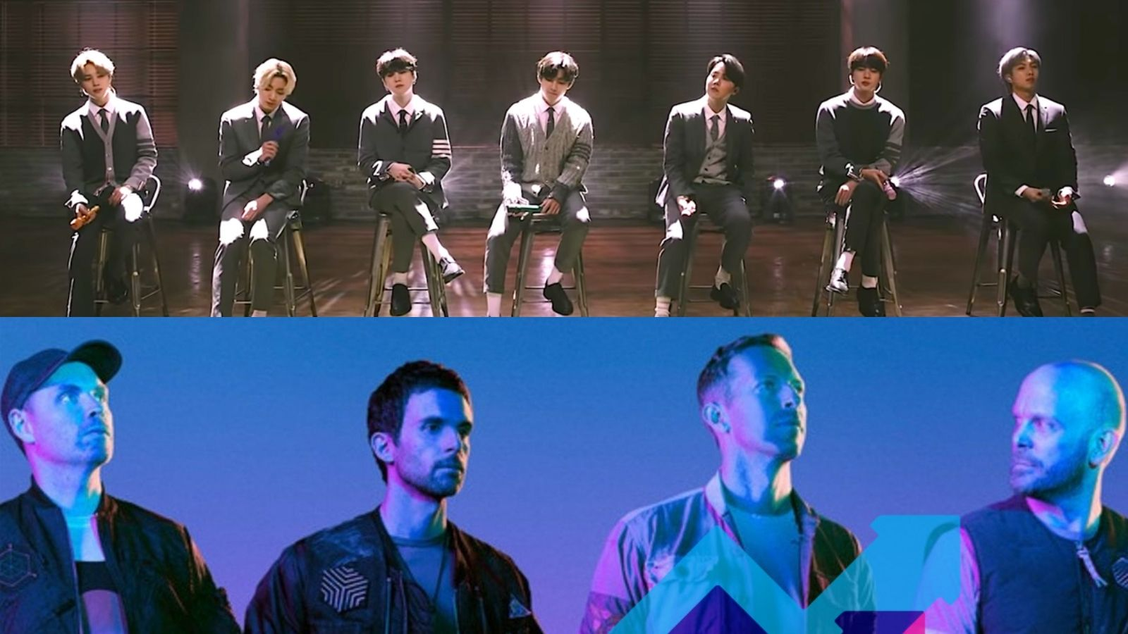 BTS and Coldplay collab My Universe