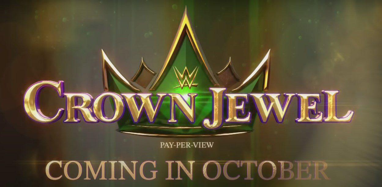 WWE Crown Pearl 2021 poster