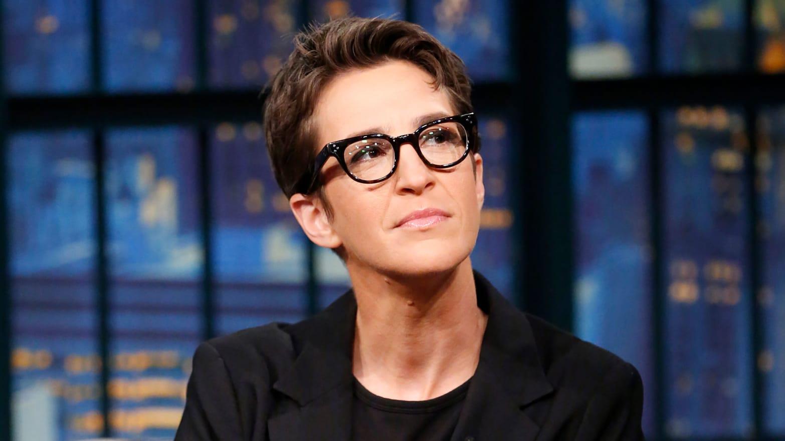 Why is Rachel Maddow leaving MSNBC