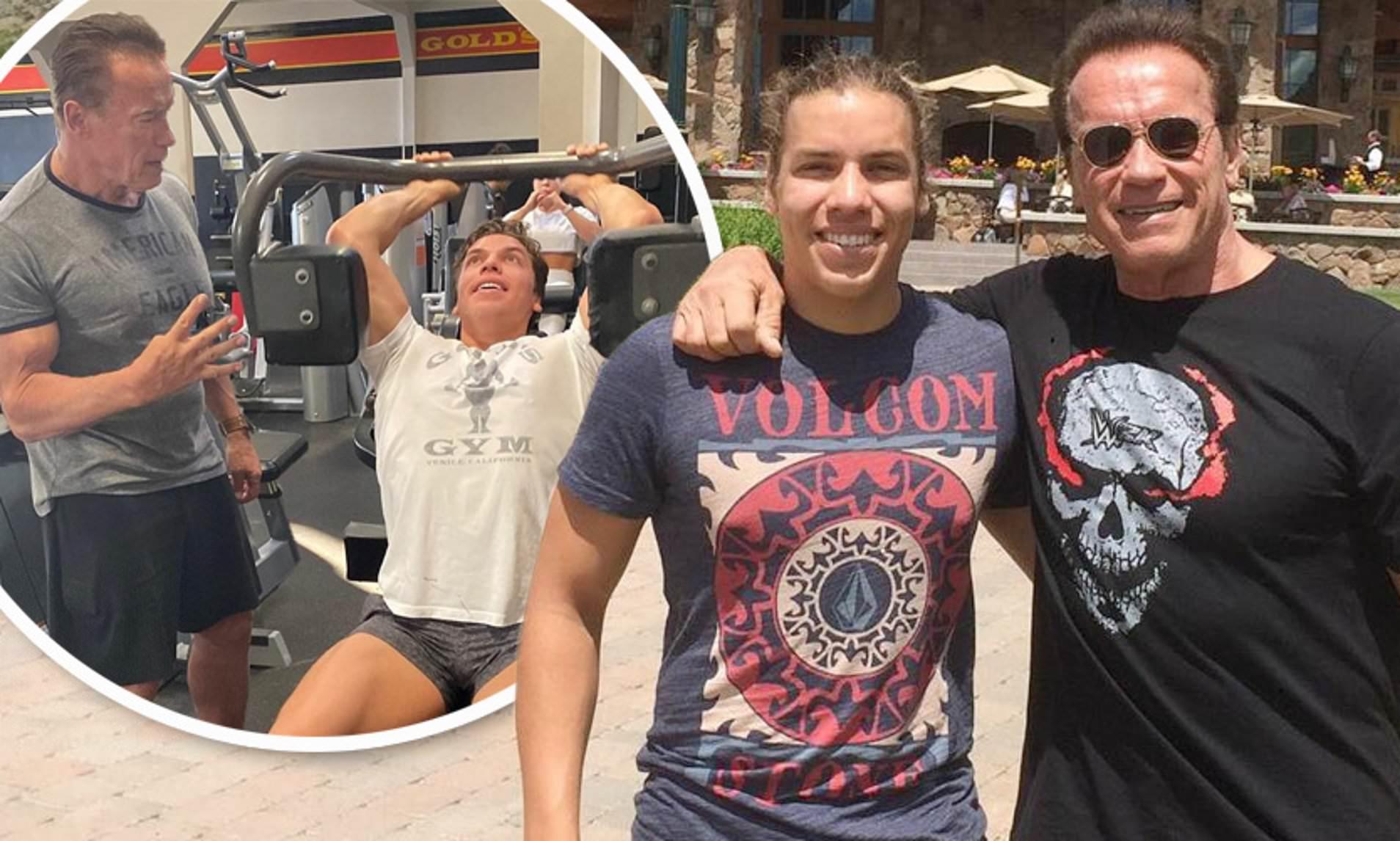 Arnold Schwarzenegger Family (Christopher Schwarzenegger Net worth)