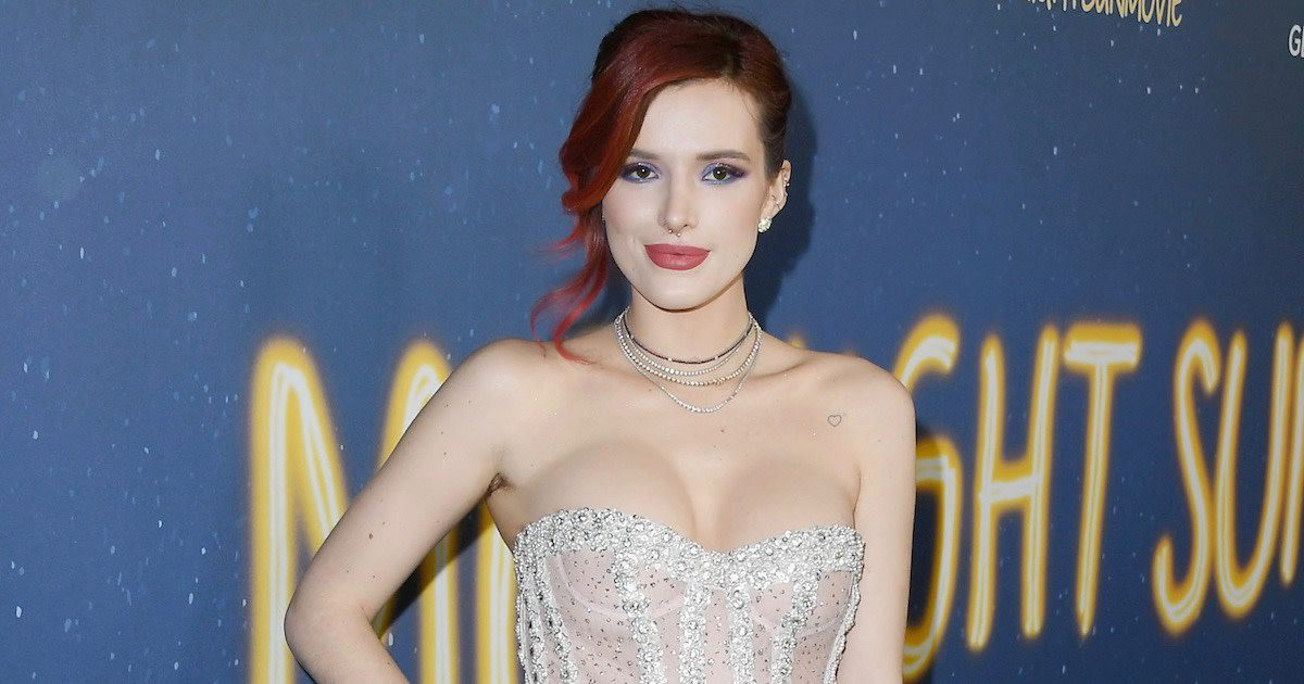 Bella Thorne arrives at Varietys 4th Annual Power of