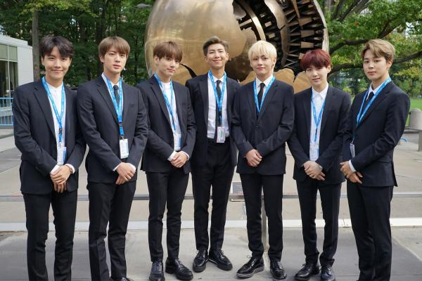 BTS at UN