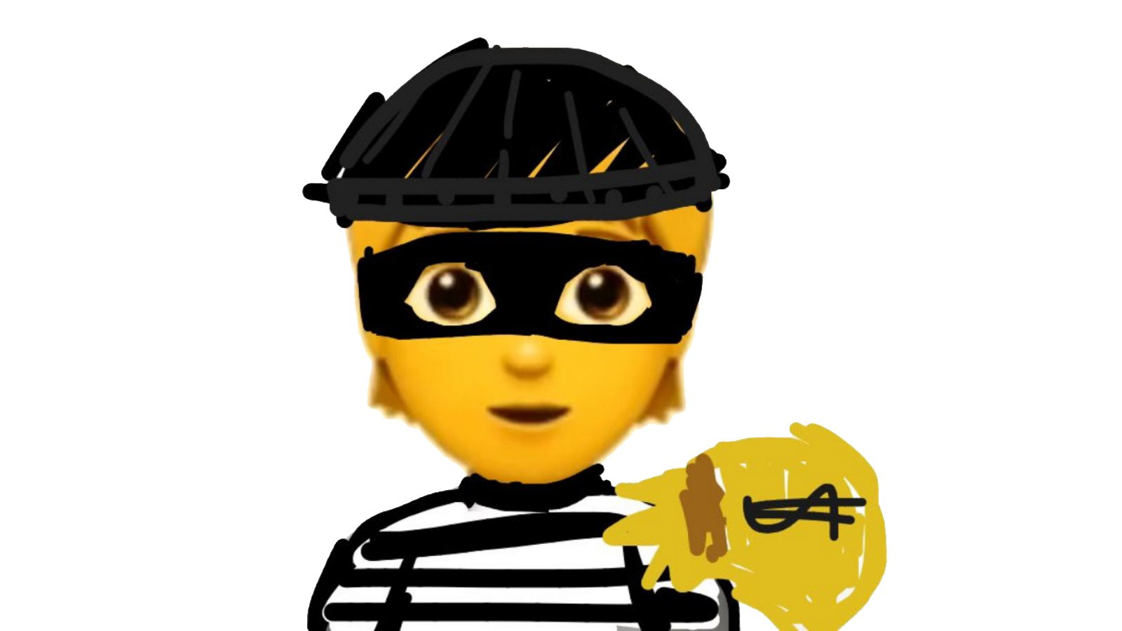 what happened to the robber emoji?