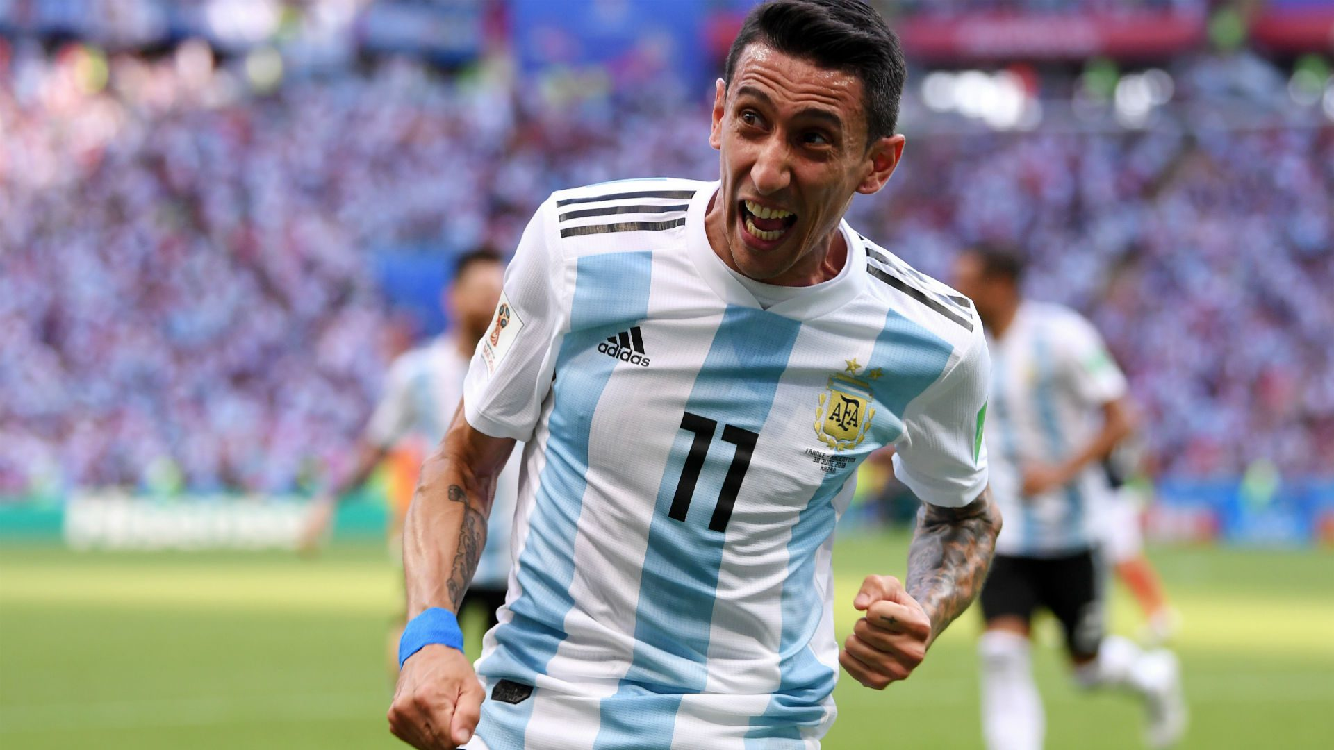 Angel Di Maria from Argentina
