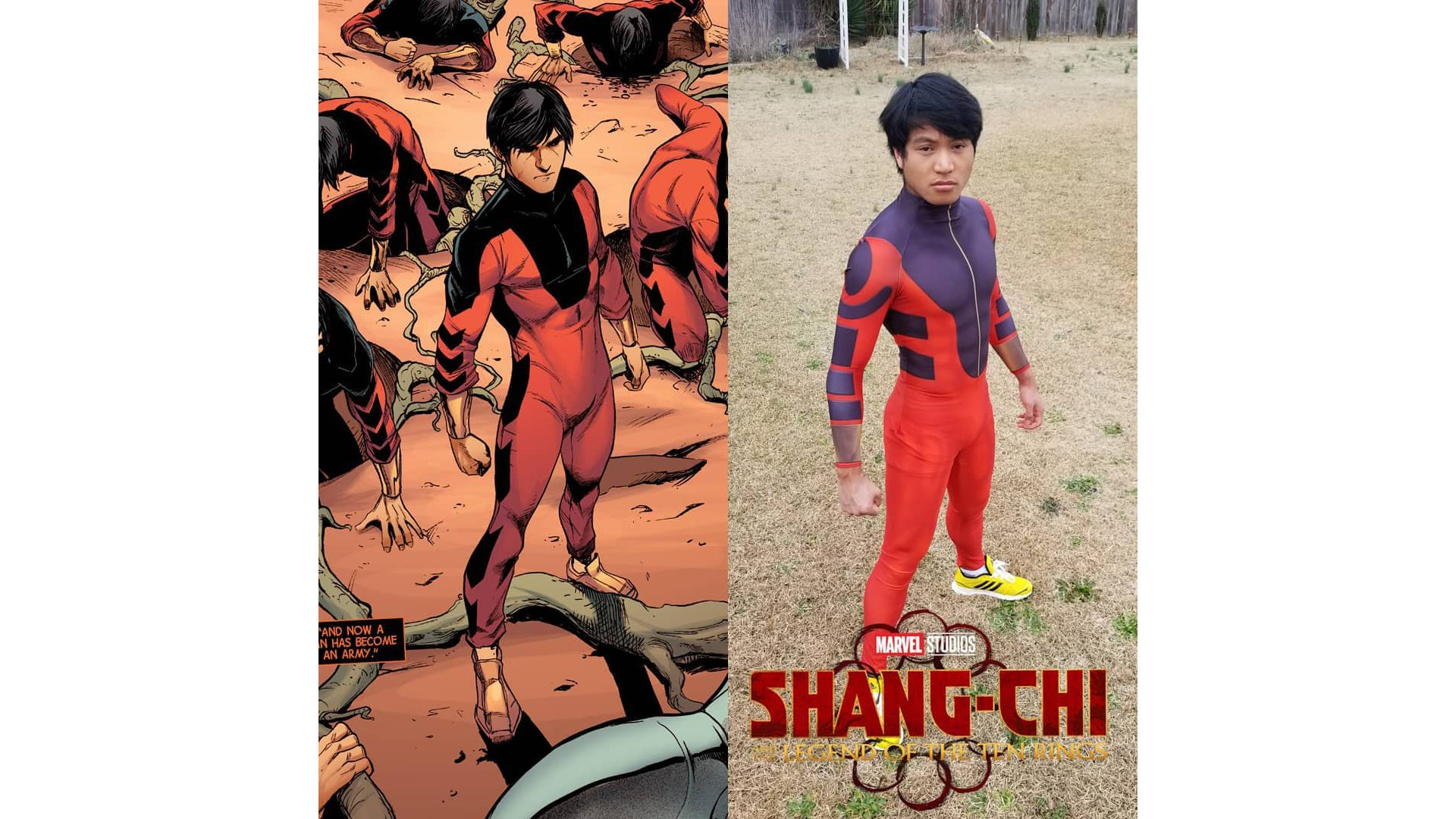 Shang-Chi cosplay by Adonis