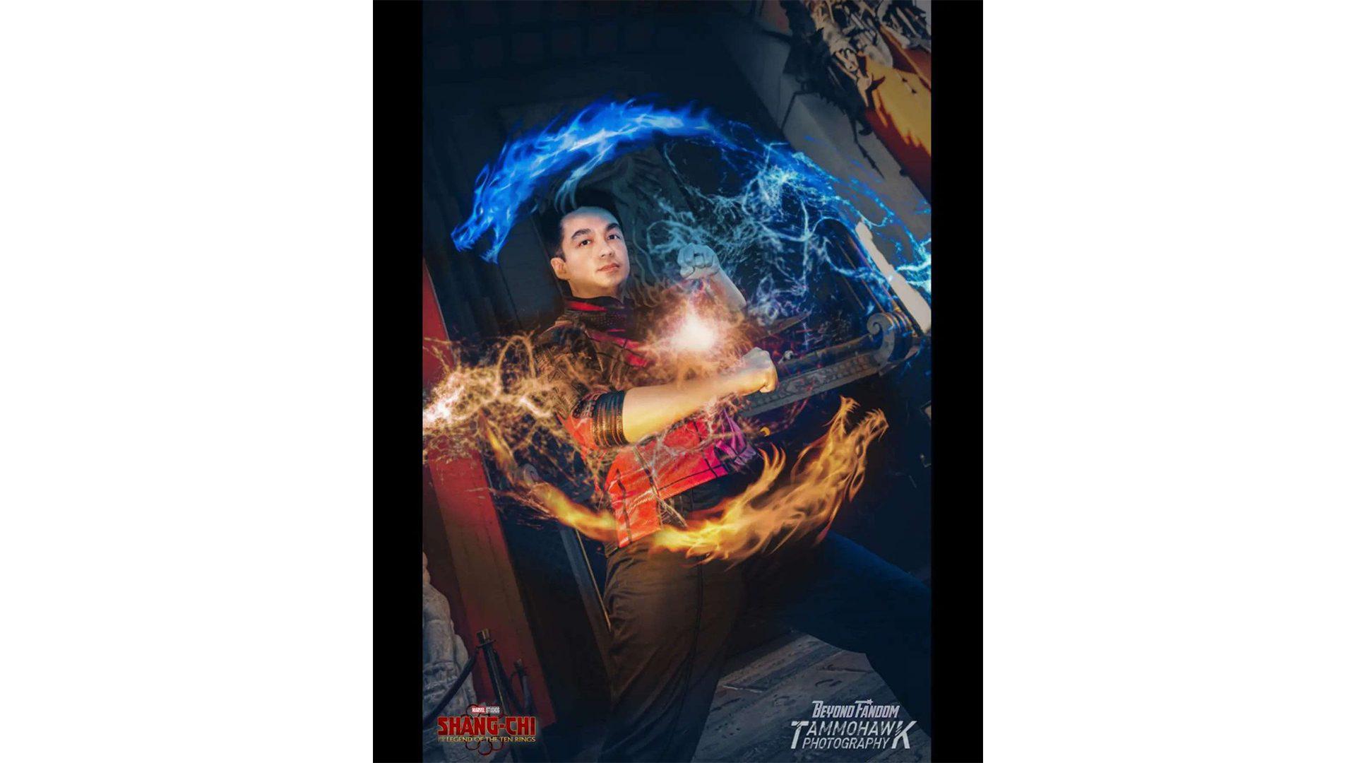 Shang-Chi cosplay by Sam Chan