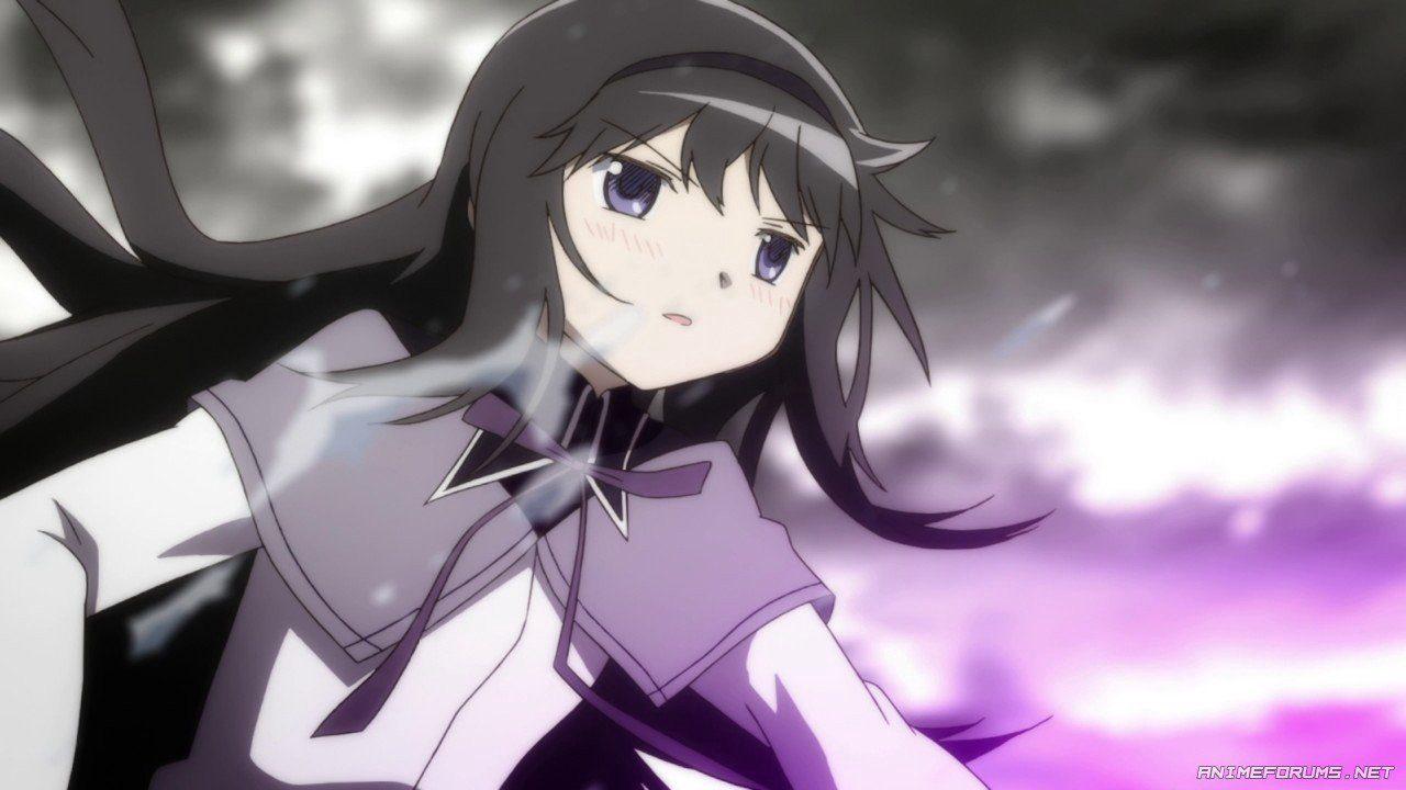 depressed anime character HomuraAkemi