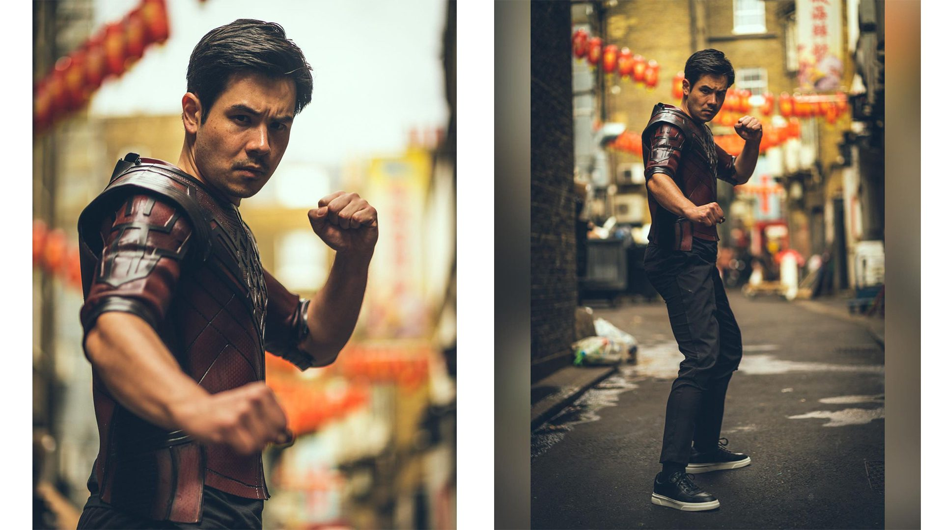 Shang-Chi cosplay by Jamie Fu H'sing Rees