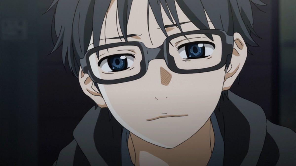 depressed anime character Kousei Arima