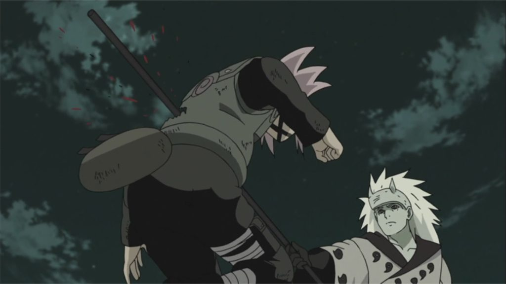 Madara kills Sakura