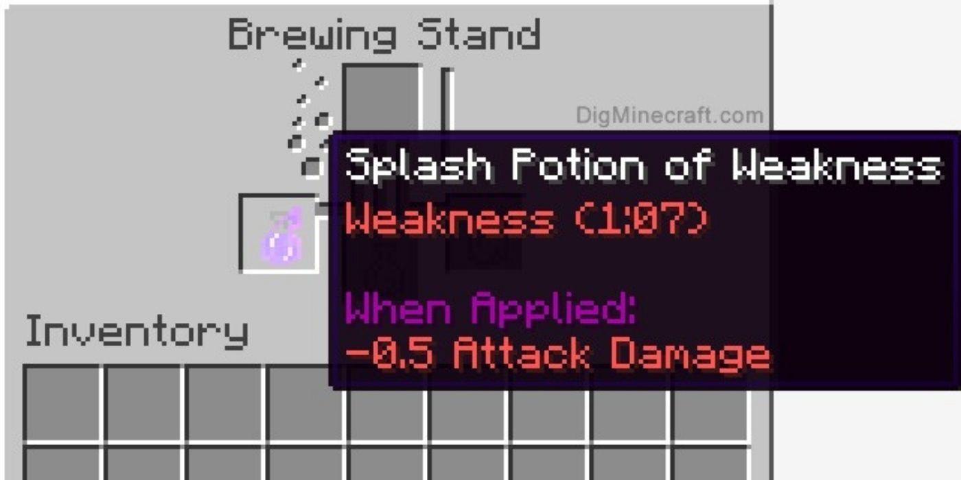 how to make Splash Potion in minecraft?