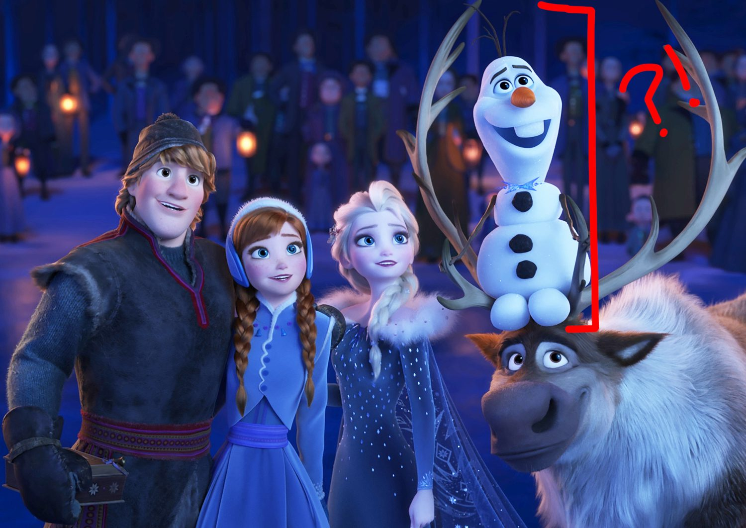 Frozen: How Tall are the Characters of the Musical Fantasy?