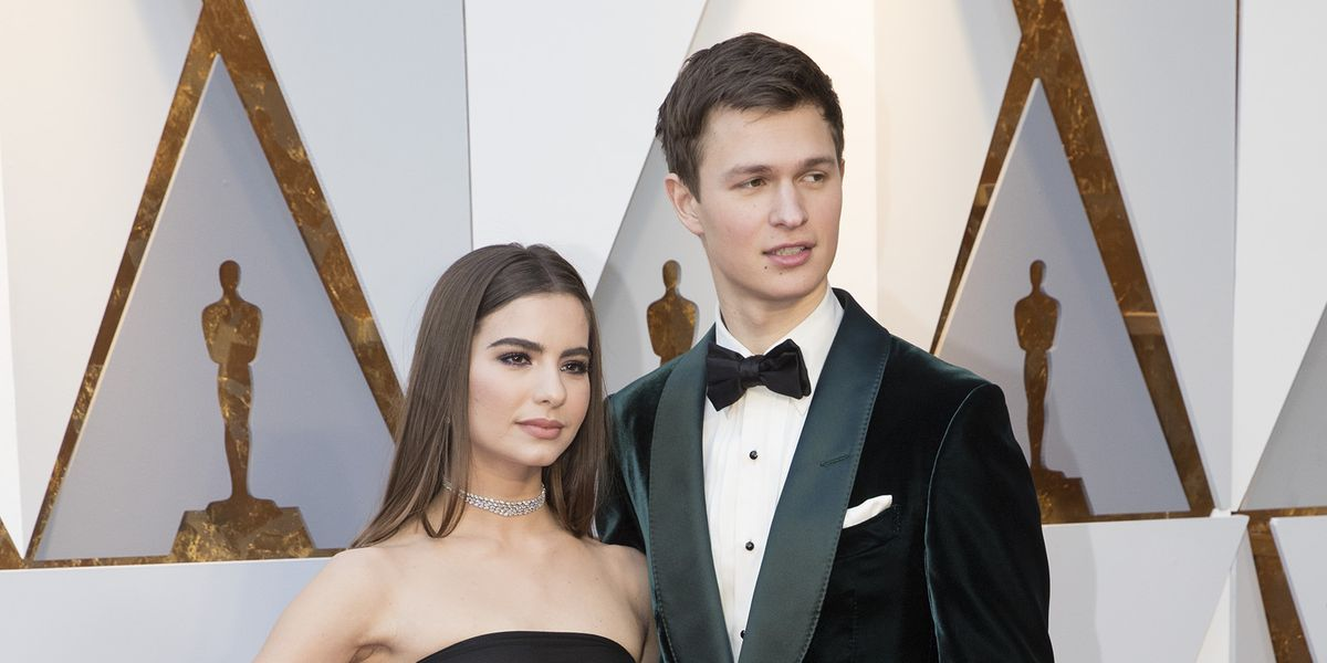 Ansel and Violetta at Oscars
