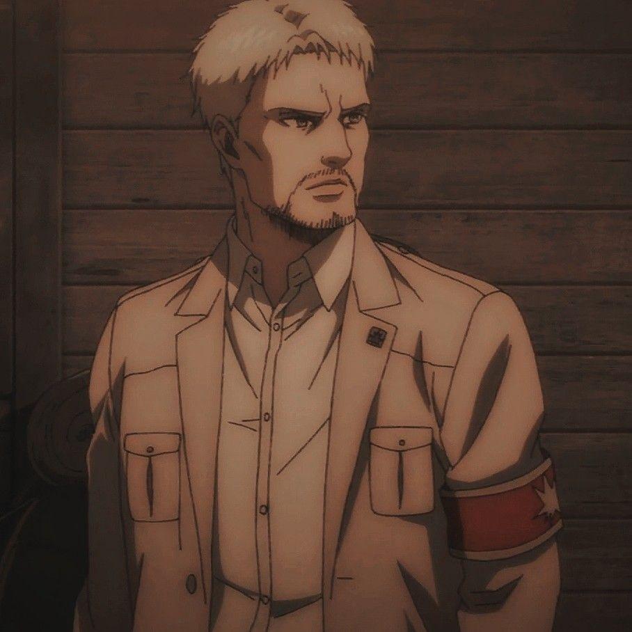 depressed anime character Reiner Braun