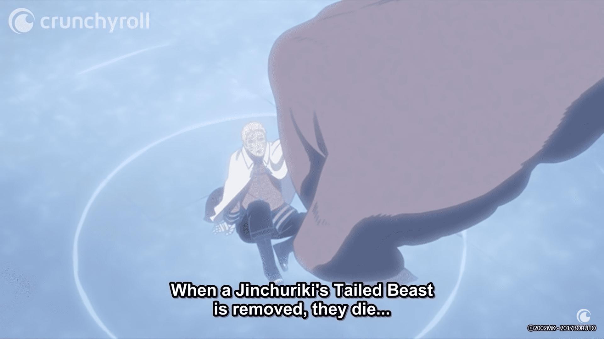 Why did Boruto Stab Sasuke Eye?