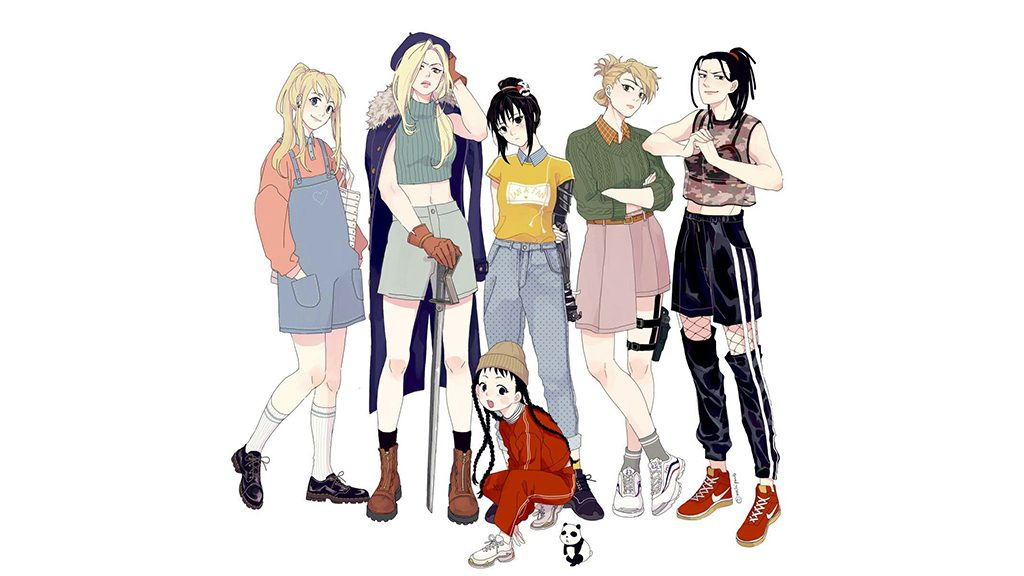 Fullmetal Alchemist is full of strong female characters.