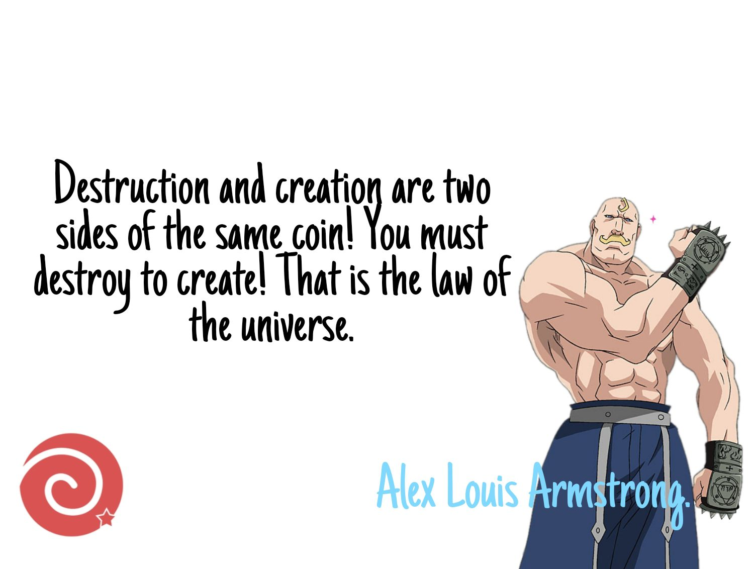 Alex Louis Armstrong Quotes from Fullmetal Alchemist
