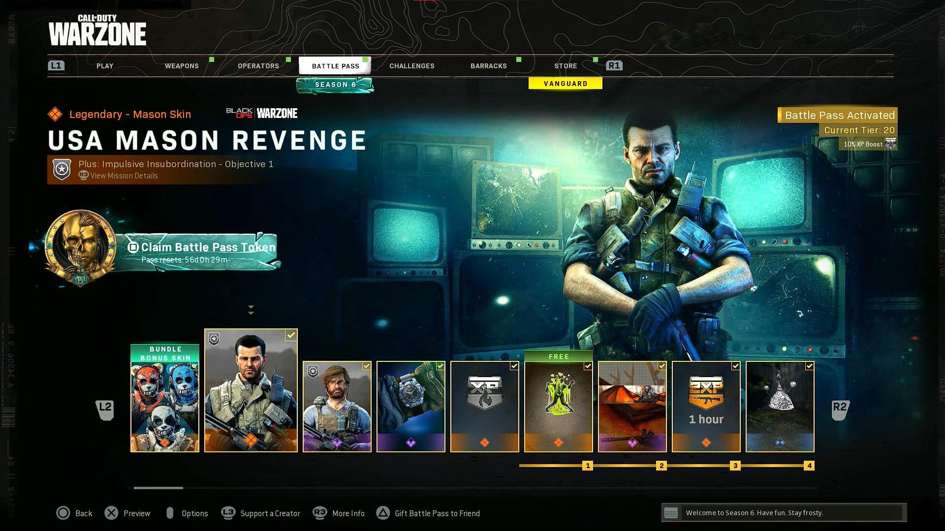 Black Ops Cold War Season 6 Battle Pass: Tier Rewards For Final Season