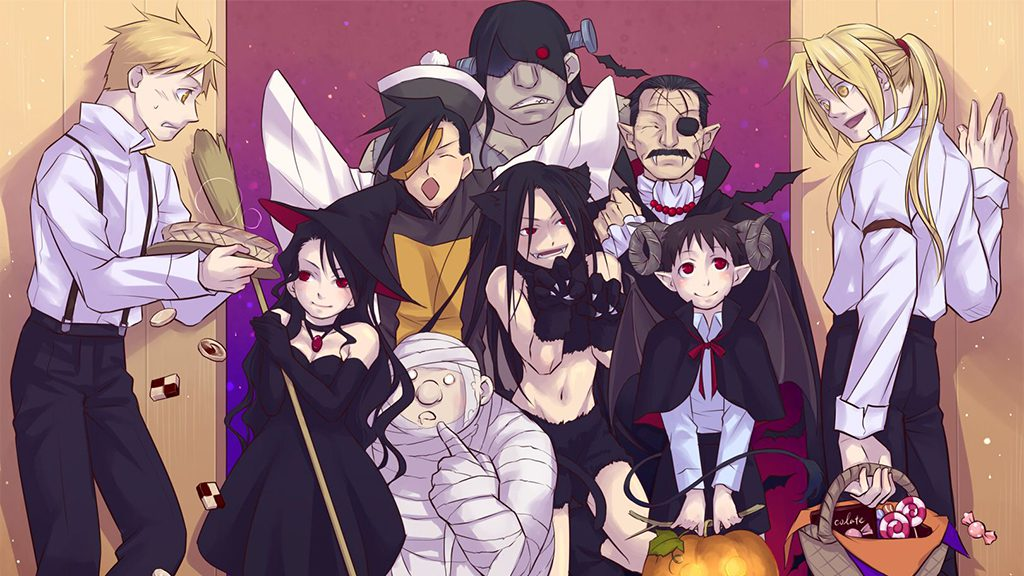 Elric Brothers and Homunculi
