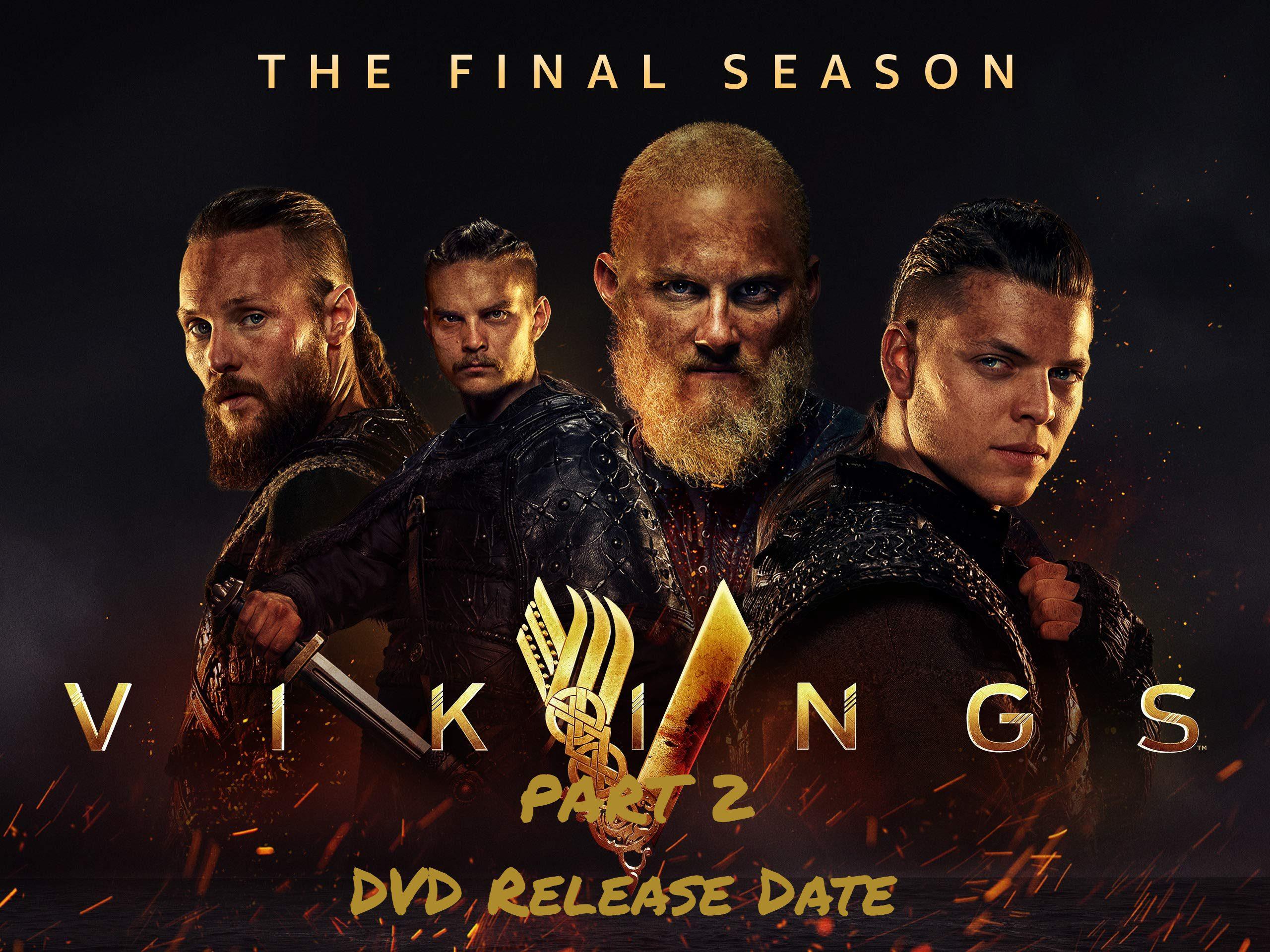 Vikings Season 6 Part 2 DVD Release