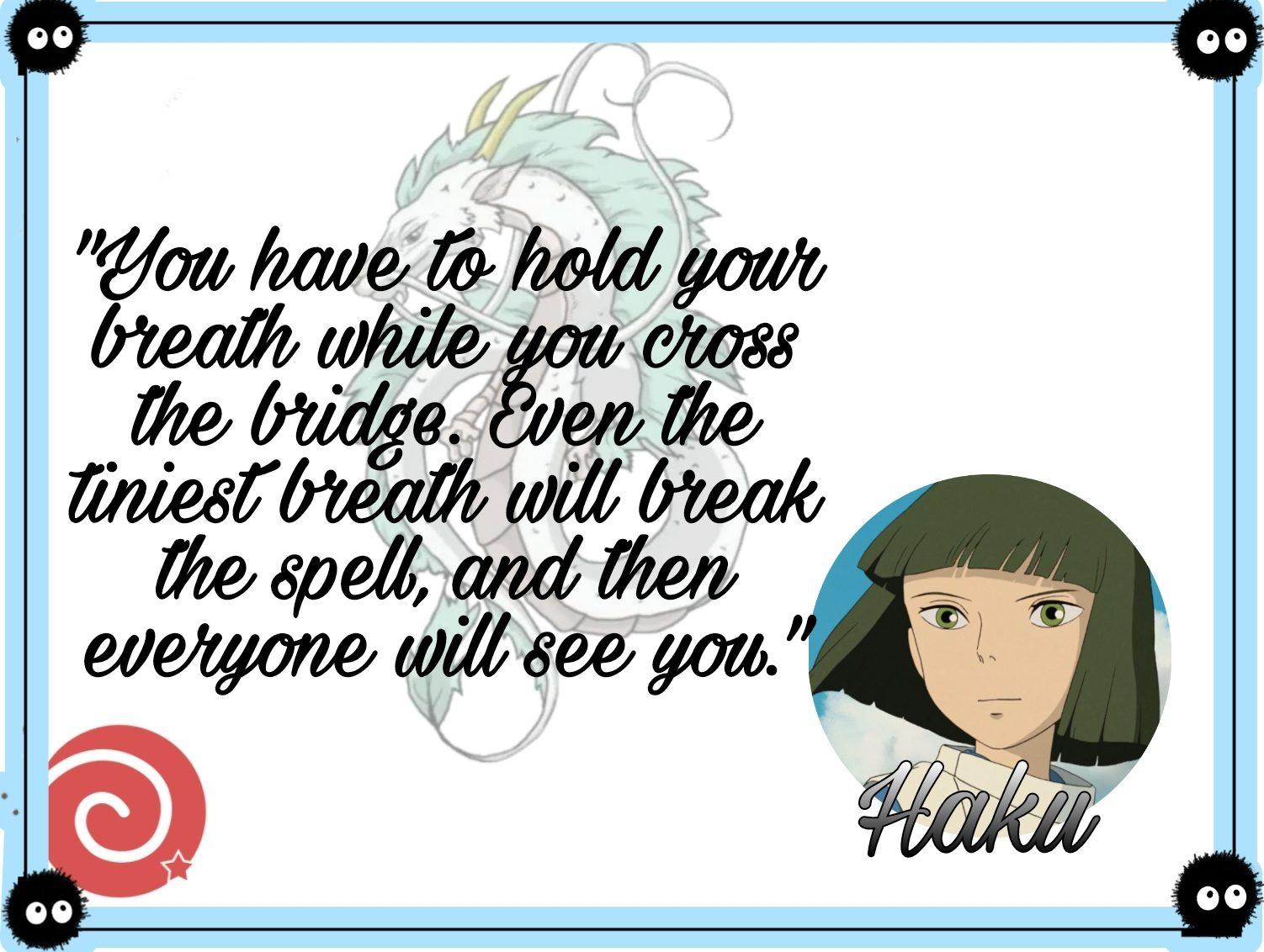 Quotes by Haku
