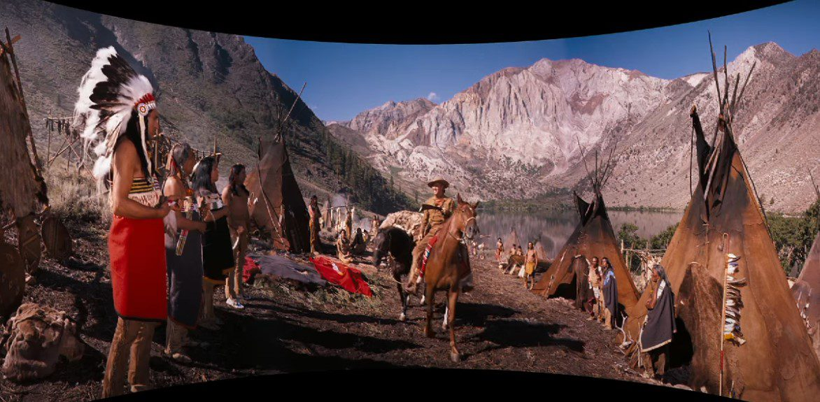 How the West Was won Filming Locations