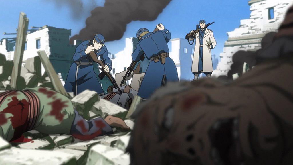 Fullmetal Alchemist fact that Arakawa interviewed real war victims.
